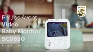 AVENT Video Baby Monitor | Philips | SCD630