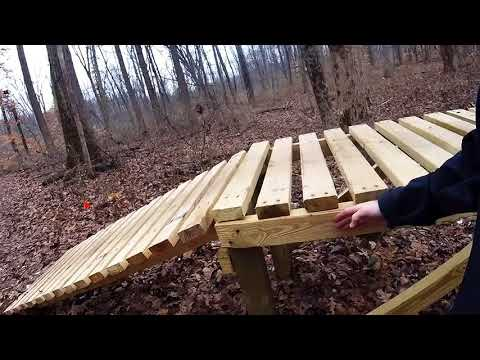 Mountain Bike Trail How-to Series - Build a Wooden Table Top