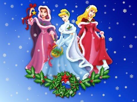 Christmas Princess.Christmas Princess Cartoon For Children