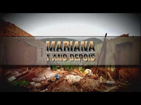 Veja como está Mariana (MG) um ano após o desastre que devastou a cidade