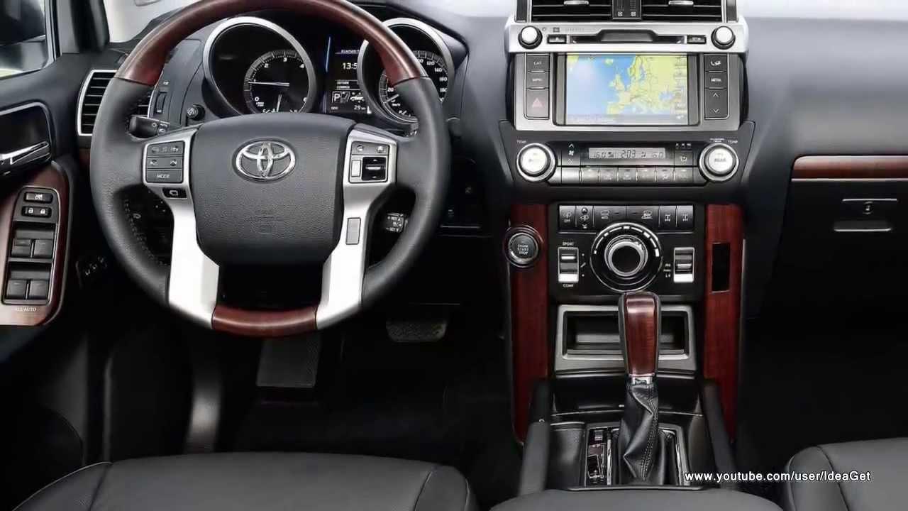 Interiors 2014 New Toyota Land Cruiser - YouTube