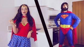 Superheroes In Real Life 😂 Wonder Woman VS Superman 😲