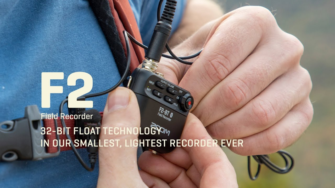 The Zoom F2 Is A Petite Field Recorder That Foregoes Gain Adjustments Musictech