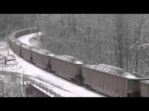 CSX Coal Train On Its Knees.
