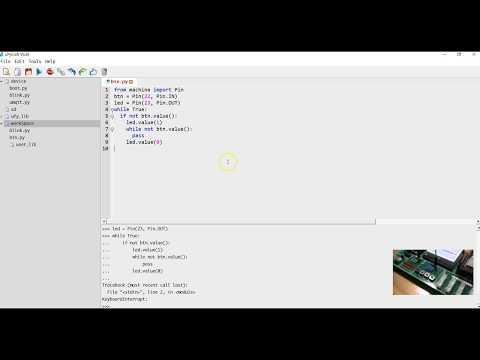 ทำ Web Server ง่ายๆ ด้วย micropython บน ESP8266