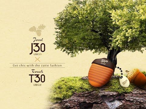 Jewel J30 USB 3.1 Flash Drive-Super-cute with the acorn-shaped design