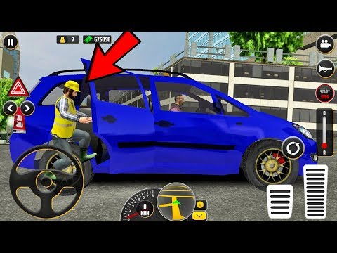 HQ Taxi Driving 3D Taxi Game #3 - Android Gameplay