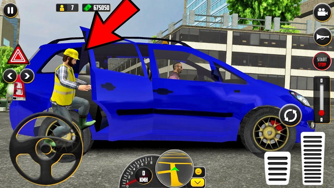 HQ Taxi Driving 3D Taxi Game #3 – Android gameplay