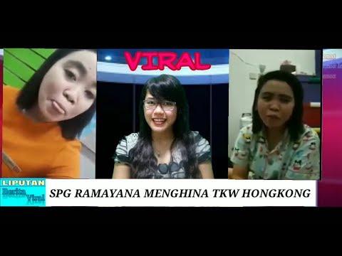 LIPUTAN BERITA VIRAL-PEGAWAI (SPG) RAMAYANA MENGHINA TKW HONGKONG