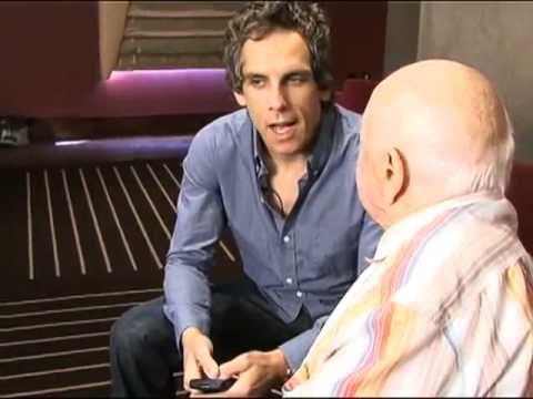 Mickey Rooney discusses twitter with Ben Stiller  rhondahailey.com