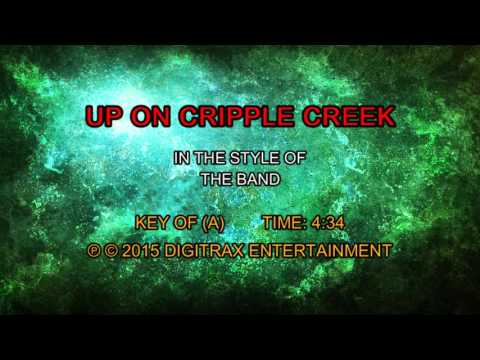The Band Up On Cripple Creek Backing Track Youtube