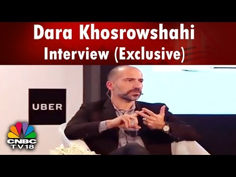 UBER Towanhall | Dara Khosrowshahi Interview (Exclusive) | Uber CEO | LIVE from IIT Delhi |CNBC TV18