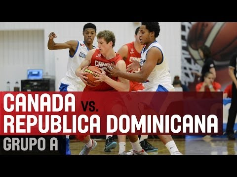 Dominican Republic v Canada - Group A - 2014 FIBA Americas U18 Championship for Men