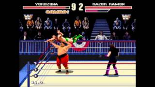 WWF Wrestlemania Arcade - Yokozuna - User video