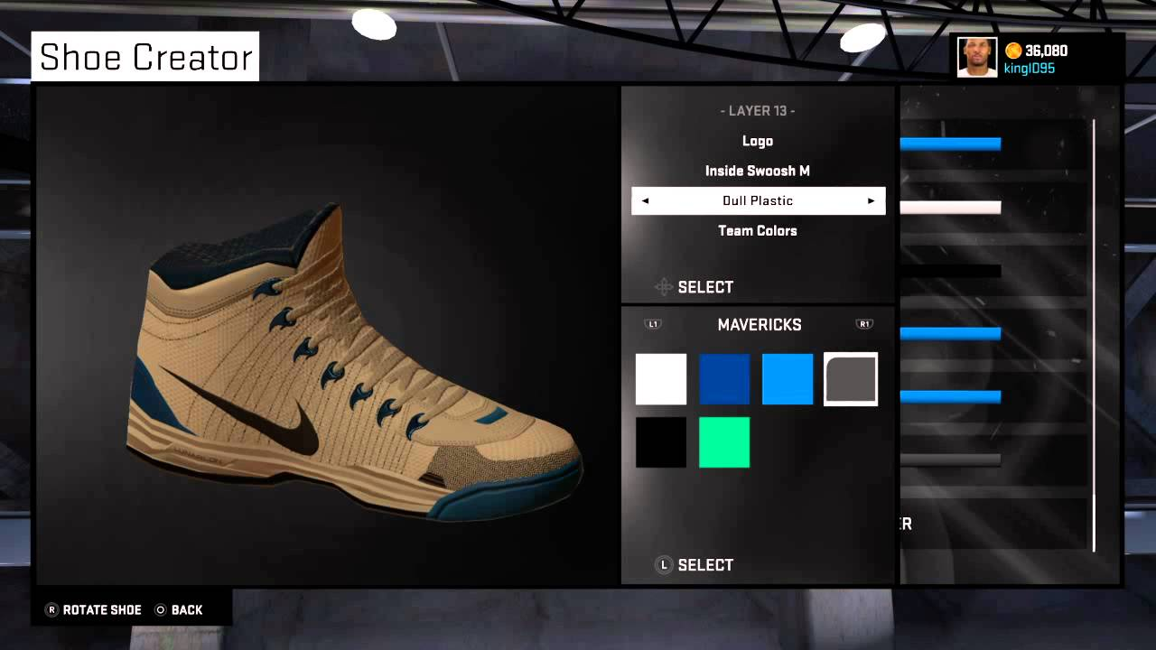 NBA 2K15 signature Shoe creation & Commercial