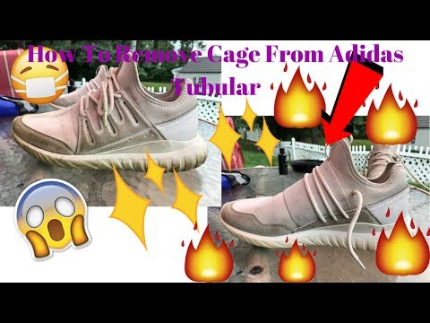 How To Remove The Cage From Adidas Tubular