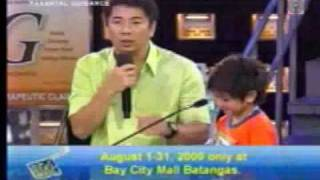 Bugoy Cariño -  the Ultimate Kid on the Dance Floor on Wowowee