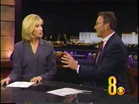 3/2/2002 Lisa Johnson, KLAS-TV  Channel 8, Las Vegas, Newscast March 2, 2002