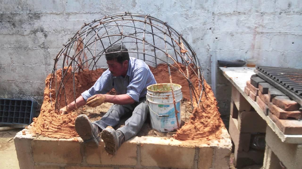 Horno de barro artesanal paso por paso youtube for Como construir un horno