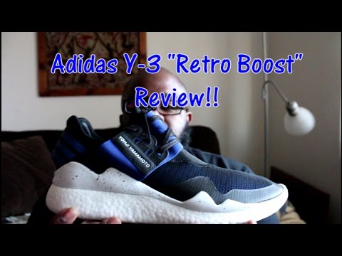 26a4ca620 Adidas  Y-3 Retro Boost Overview!! - YouTube