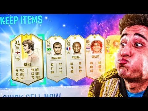 the *BEST* Icon SBC PACK OPENING OF ALL TIME!!! (FIFA 19)