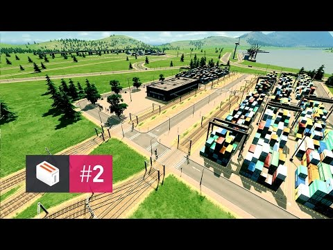 Let's Design Cities Skylines — EP 2 — Industrial Park