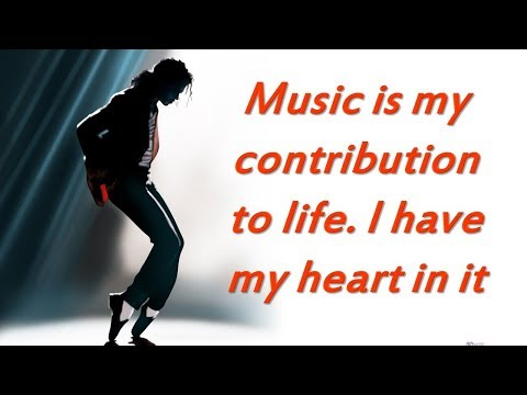 Michael Jackson's Inspirational Quotes | Michael Jackson's Top Rules For Success