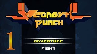 Megabyte Punch Walkthrough PART 1 (PC) No Commentary 2D Fighting Action Platformer