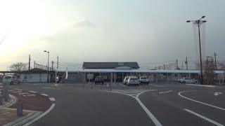 福島県道189号 01 本宮停車場線 本宮→本宮駅 車載