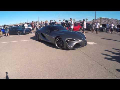 Toyota FT 1 Supras In Vegas SIV