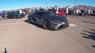 Toyota FT 1 Supras In Vegas SIV