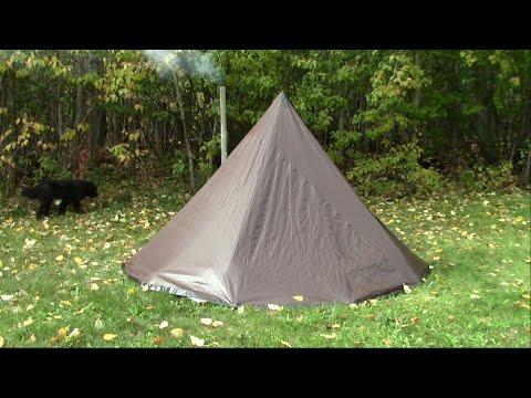 Make A Tarp Tent Tipi Hot Tent On The Cheap