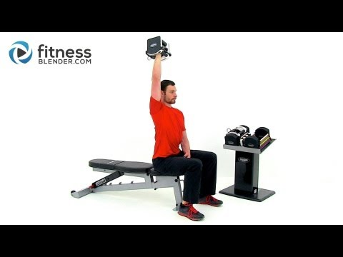 Strength Training for Arms and Shoulders Strong Toned Arms Workout