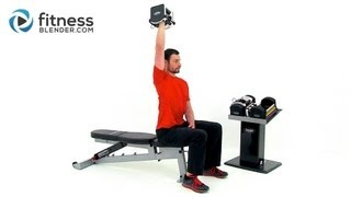 Strength Training for Arms and Shoulders - Strong Toned Arms Workout