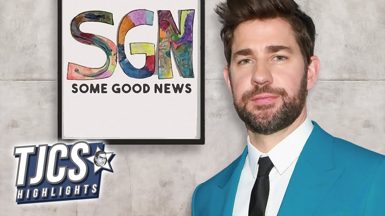 John Krasinski Sells Some Good News To CBS