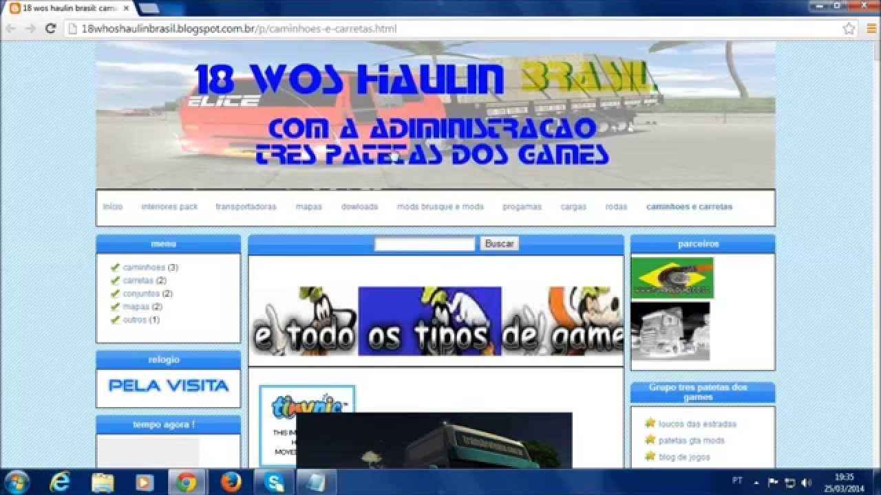 PARA BAIXAR HAULIN OF STEEL CARGAS 18 BRASILEIRAS WHEELS