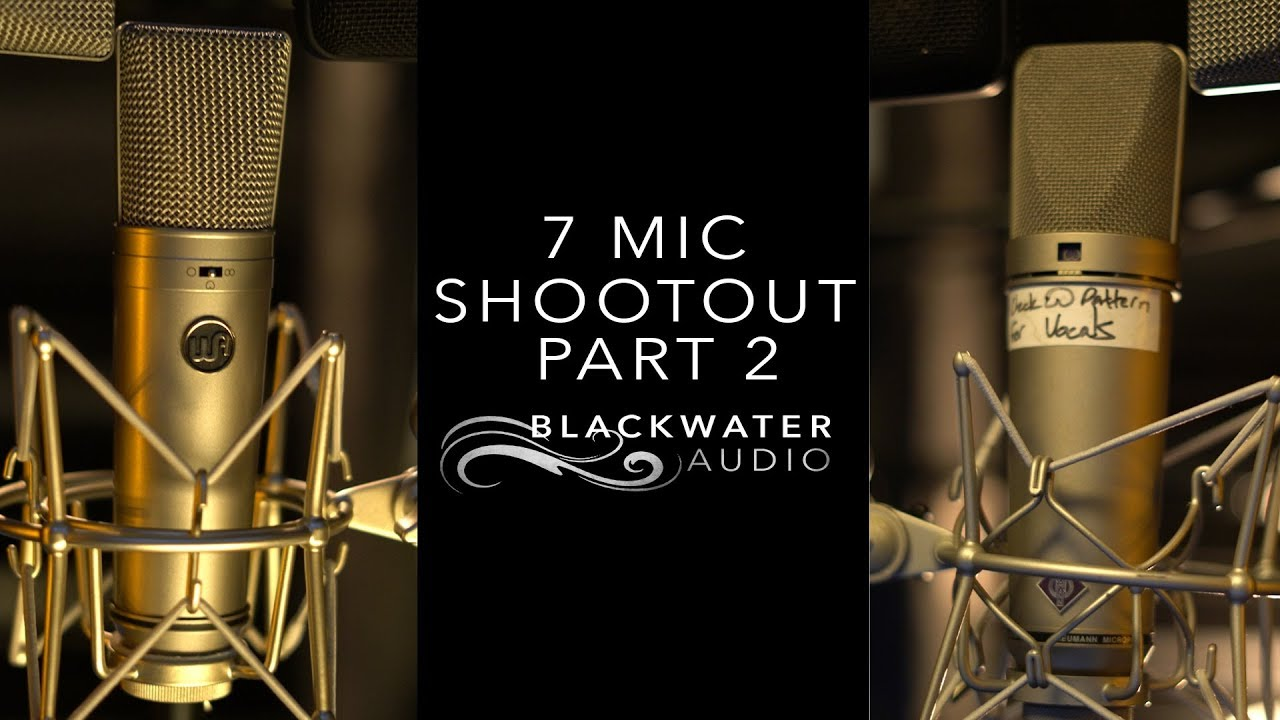 7 Vocal Microphone Shootout Part 2 | Male Singing Voice | Warm Audio vs Neumann vs FLEA