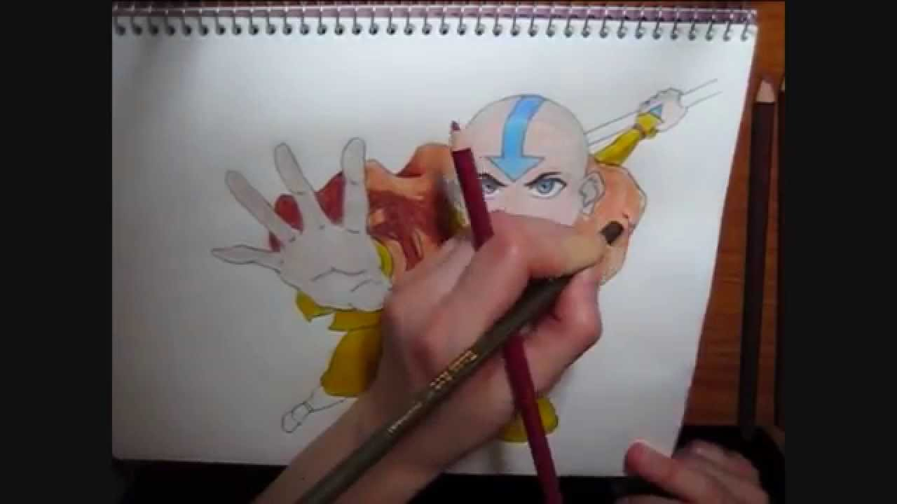 Drawing aang from avatar youtube