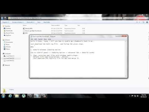 Enable MP3 Thumbnails or Album Art in Windows Explorer - Windows 7