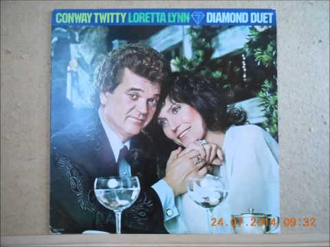 Conway Twitty Loretta Lynn You Never Cross My Mind