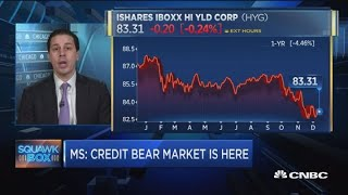 Morgan Stanley: Credit bear market is here