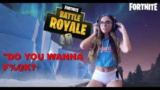 Gamer Girl Trolls on Fortnite Season 7