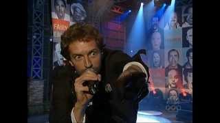 Coldplay live Jay Leno 2005 - Talk