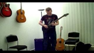 Chris William J. - John Petrucci Curve cover (Crossroads contest application video)
