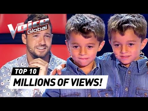 MOST TRENDING Blind Auditions in 2019   The Voice Kids Rewind