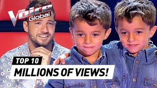 MOST TRENDING Blind Auditions in 2019 | The Voice Kids Rewind