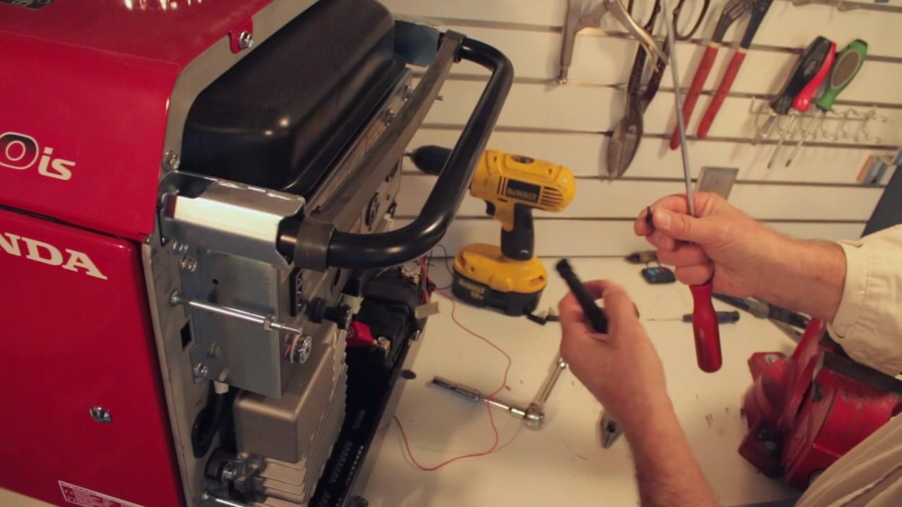 generator line honda eu3000is eu30is wireless remote system instructions [ 1280 x 720 Pixel ]