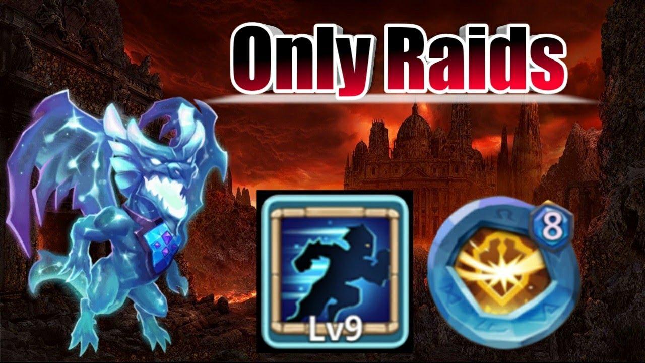 Lavanica | 9/9 Stealth | 8 Survival | Only Raids | Gameplay | Castle Clash