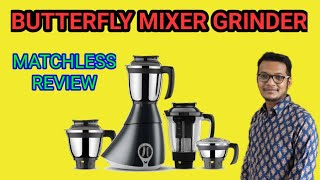 Butterfly Matchless 4 Four Jar Mixer Grinder Unboxing Demo & Review
