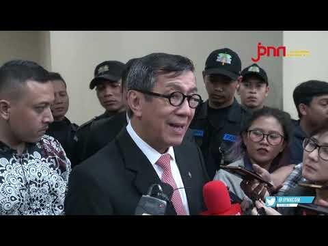 Menteri Yasonna Lega UU Baru Bakal Perkuat KPK, Begini Penjelasannya